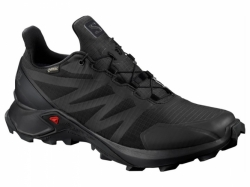 Trailová obuv SALOMON SUPERCROSS GTX  black