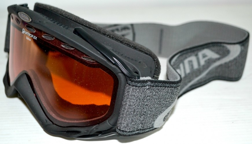 f6d8e70ba Lyžiarske okuliare ALPINA SPICE čierne