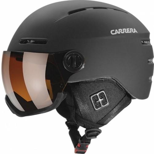 9cbdf3f73 Lyžiarská prilba CARRERA KARMA čierna matná, veľkosť 53 - 57 cm