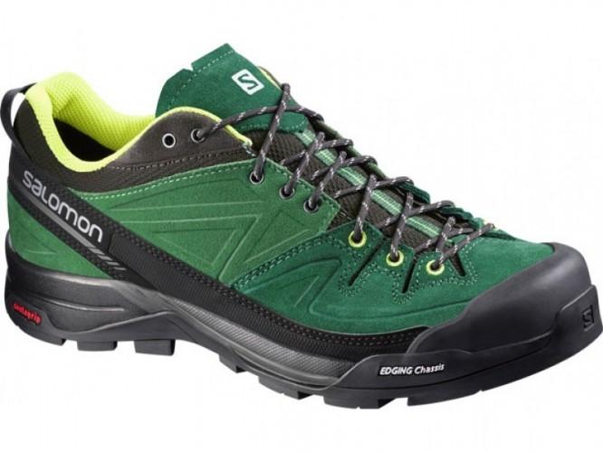 Pánska trekingová obuv SALOMON X ALP LTR GR Evergreen GR d5965b18e3