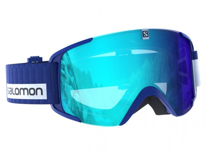 Lyžiarske okuliare SALOMON XVIEW Blue Light blue 360a08805cf