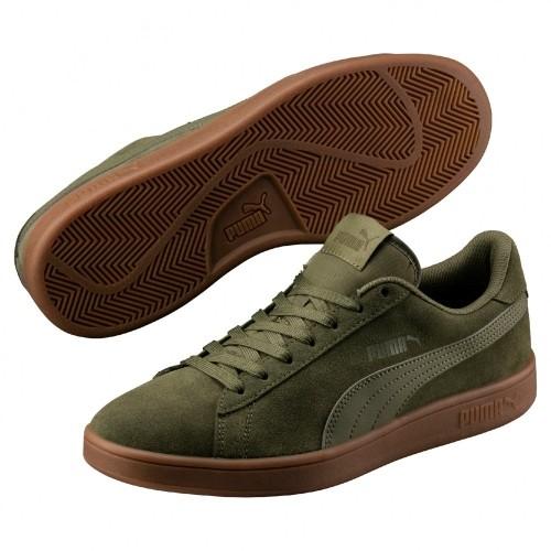 Pánska obuv PUMA SMASH olive c5b953a6238
