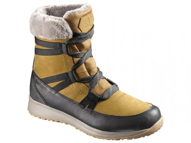 Dámska zimná obuv SALOMON HEIKA LTR CS WP Camel Gold a0f79ee4f53
