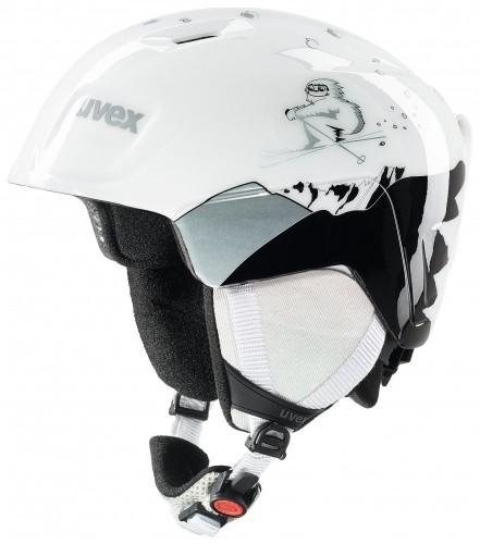 32296443c Detská lyžiarska prilba UVEX MANIC biela